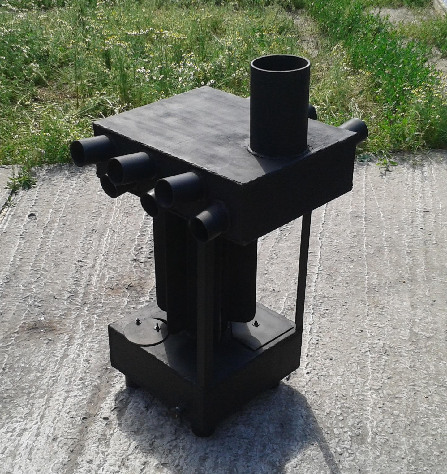 Ракетная печь из профильной трубы своими руками: варианты изготовления 100
